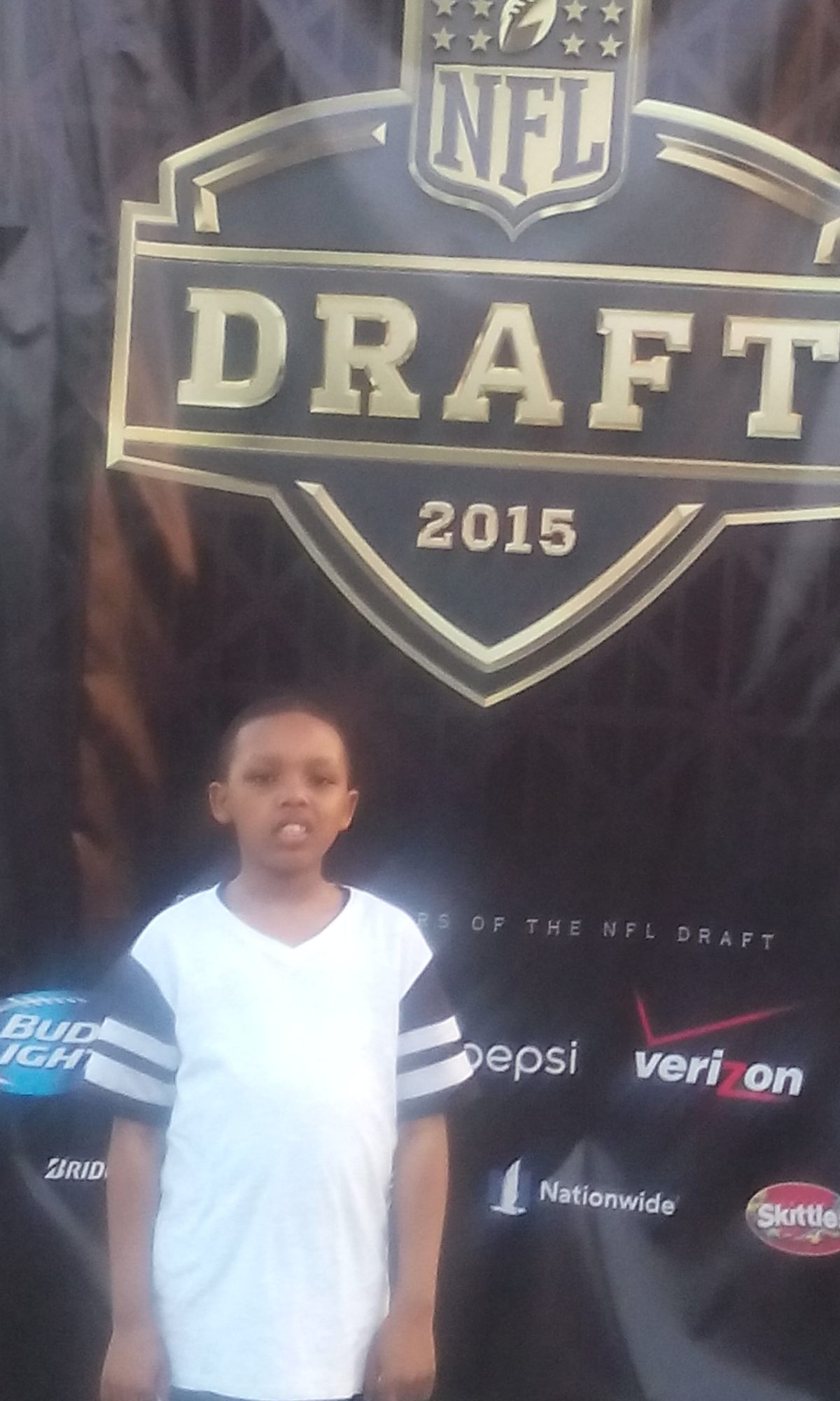 Family Time at NFL Draft 2015