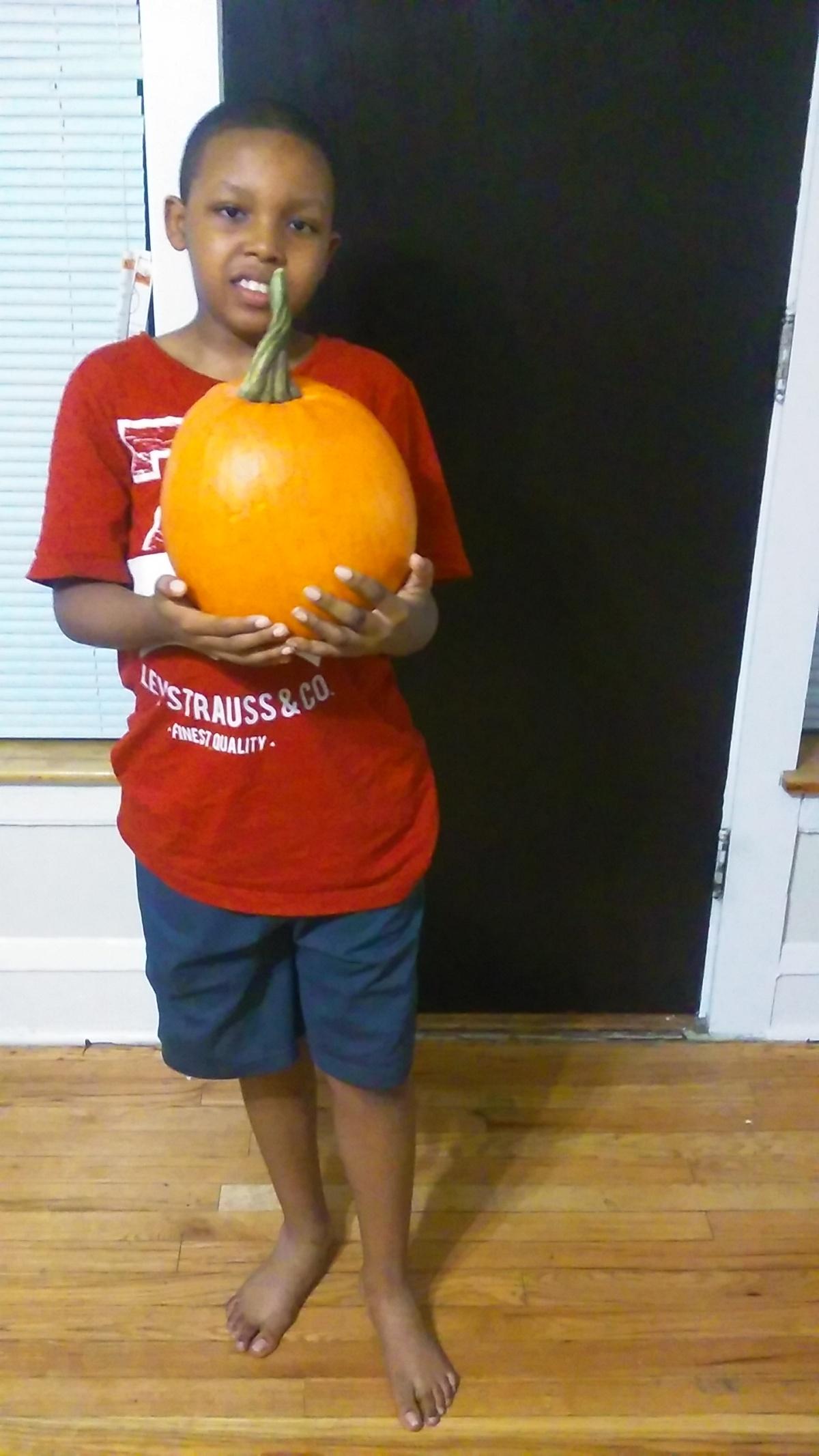 Pumpkin on thego